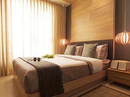 Slaapkamer stoffering & Hoofdborden op maat